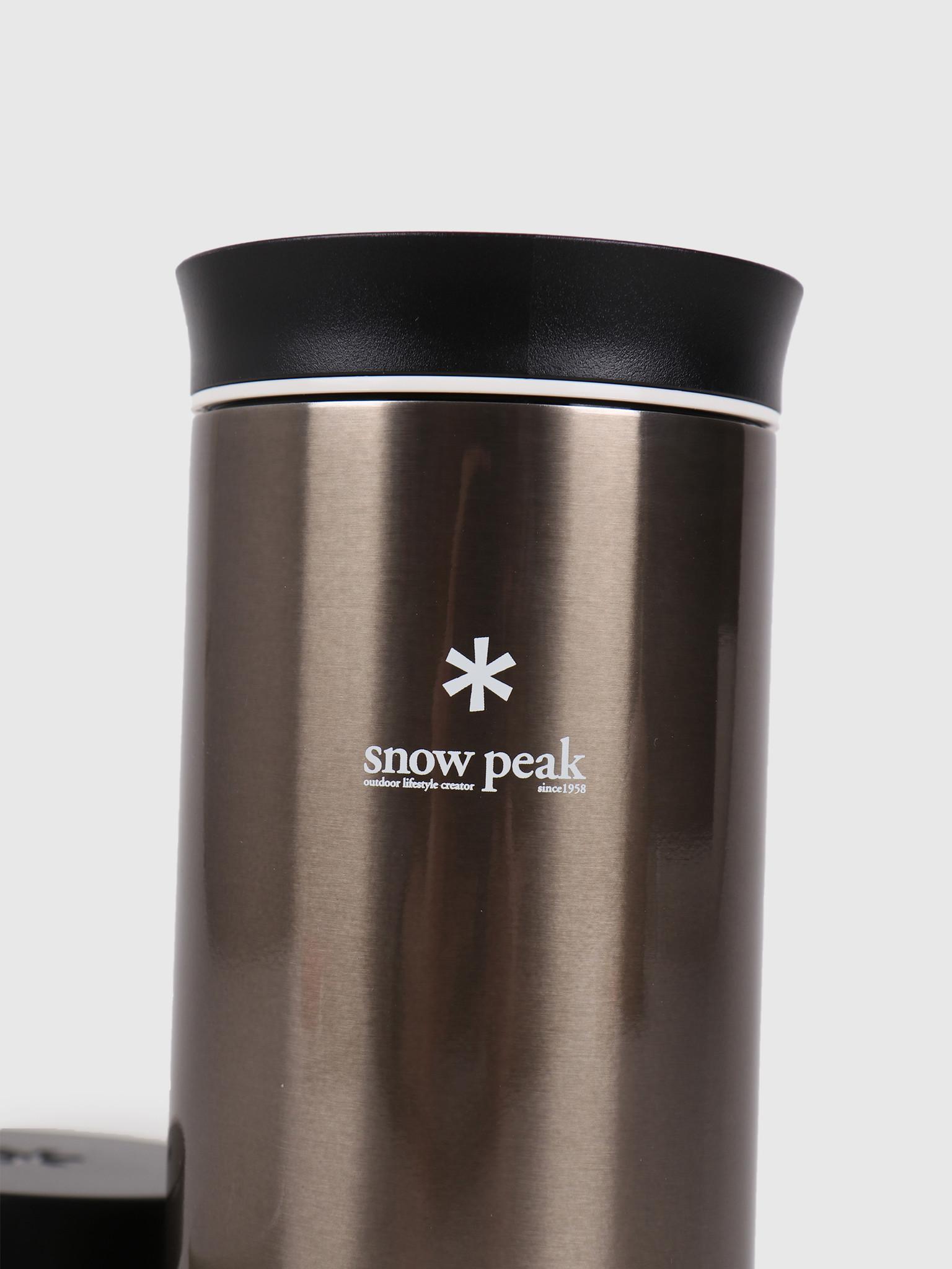 Snow Peak Snow Peak Kanpai Bottle 350Ml Dark Silver TW-070R-DS