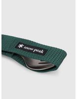 Snow Peak Snow Peak Titanium Fork & Spoon Set Grey SCT-002