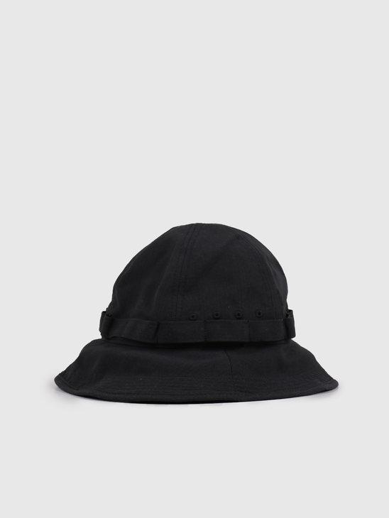 Snow Peak Takibi Bucket Hat Black UG-823BK