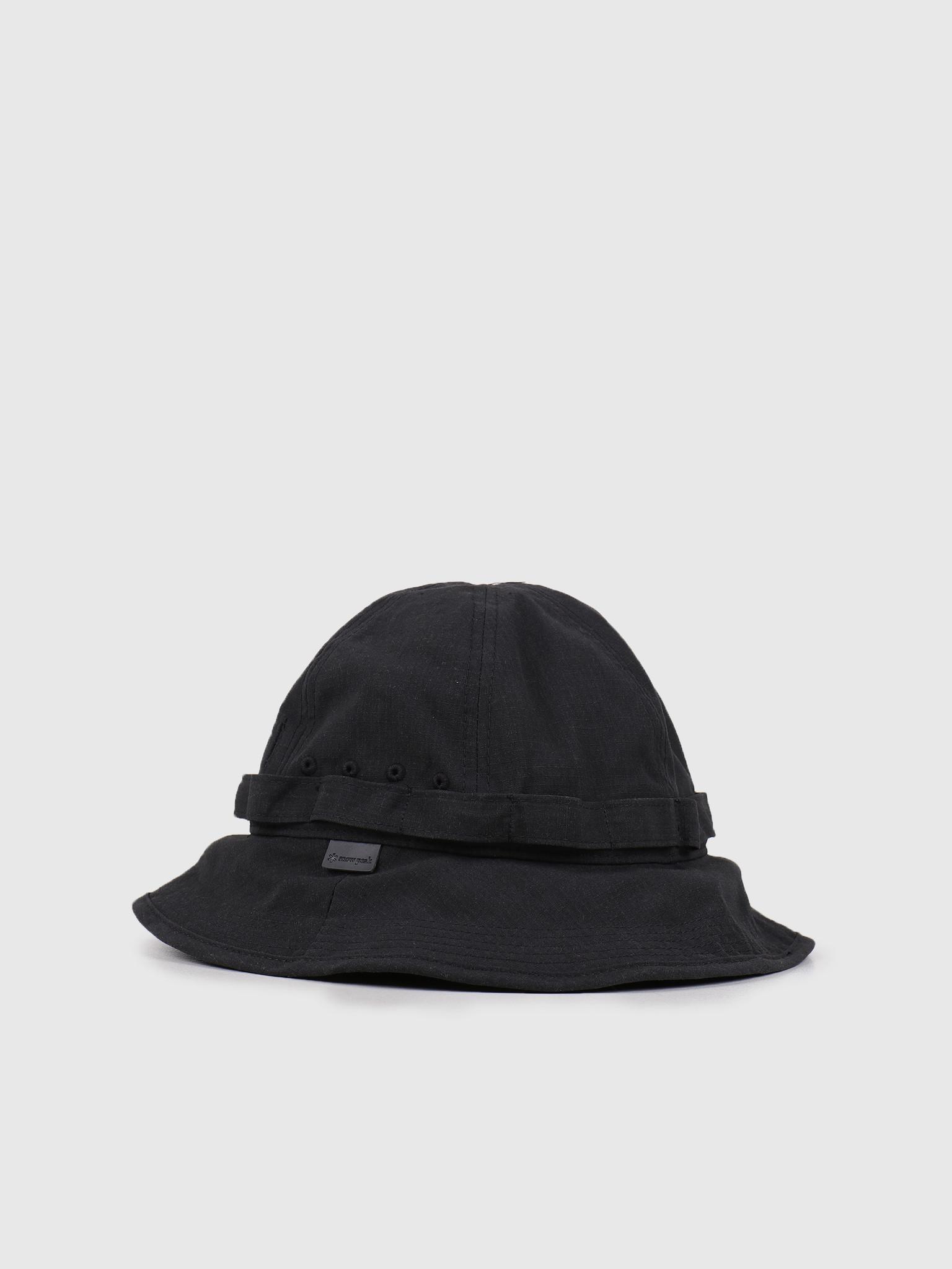 Snow Peak Snow Peak Takibi Bucket Hat Black UG-823BK
