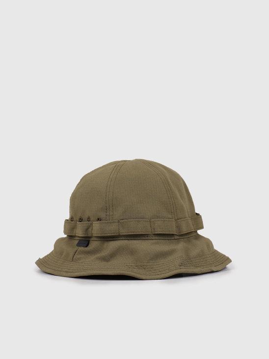 Snow Peak Takibi Bucket Hat Green UG-823BG