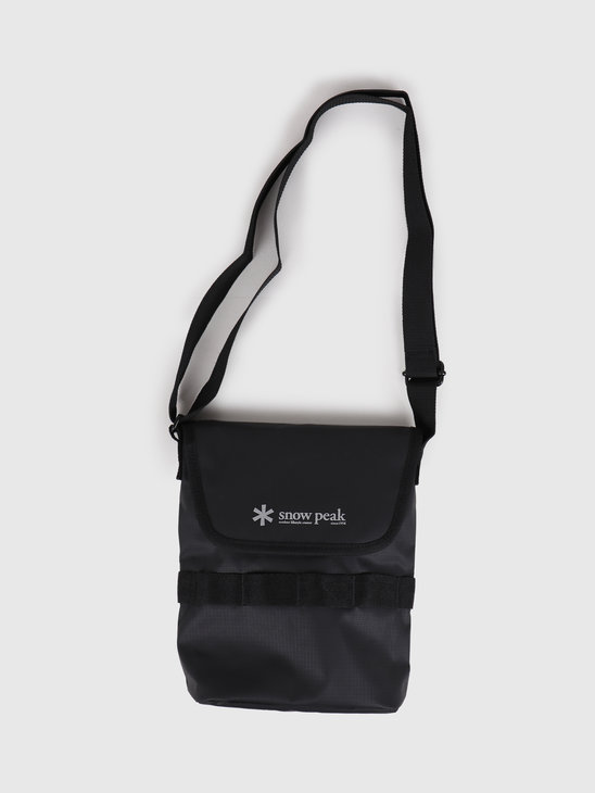 Snow Peak Mini Shoulder Bag Black UG-737BK