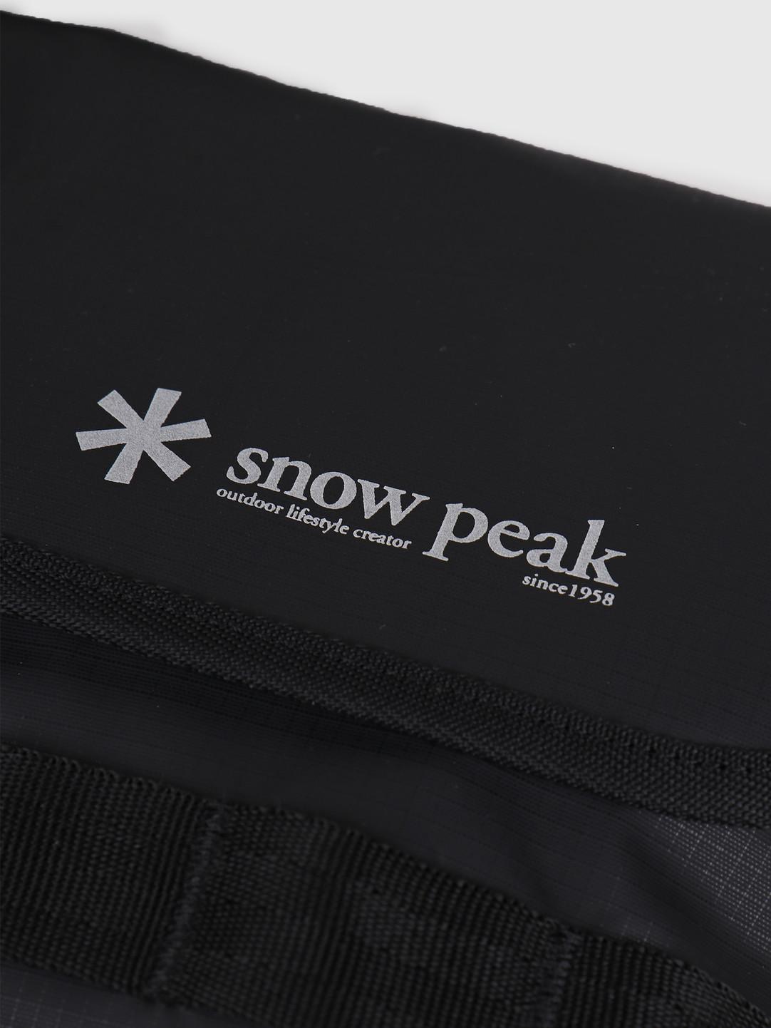 Snow Peak Snow Peak Mini Shoulder Bag Black UG-737BK