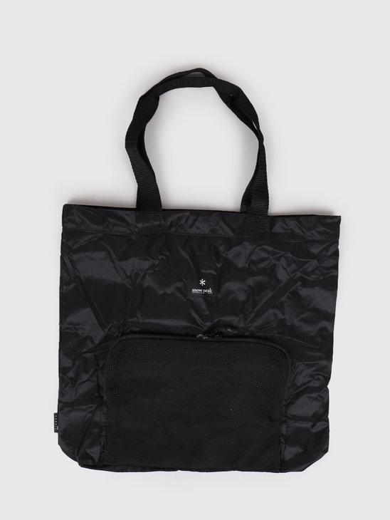 Snow Peak Pocketable Tote Bag Type 01 One Black UG-62400BK