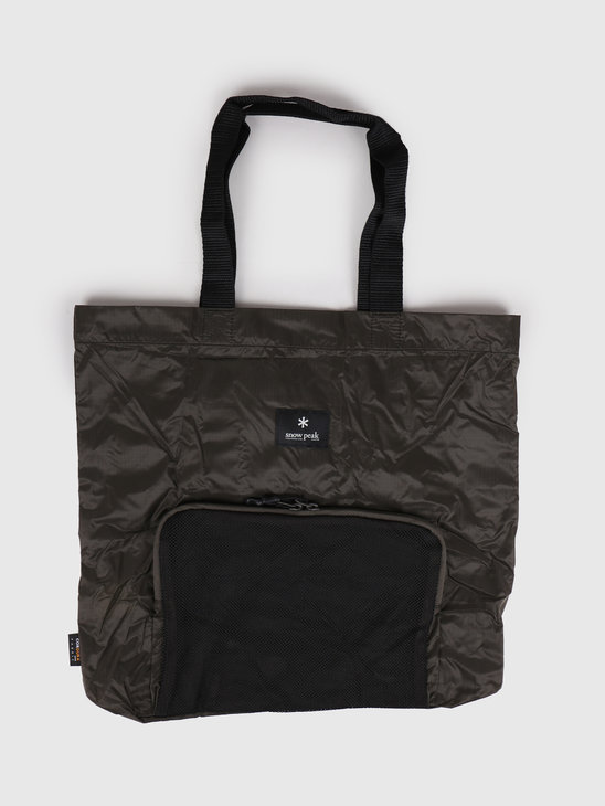 Snow Peak Pocketable Tote Bag Type 01 One Olive UG-62400OL