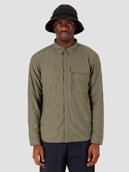 Snow Peak Flexible Insulated Shirt Green SW-20SU00303OL