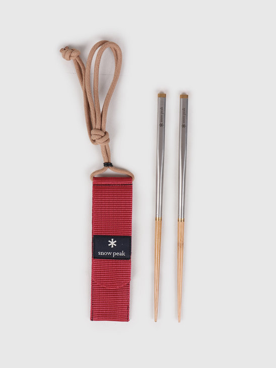 Snow Peak Carring On Chopsticks L Beige SCT-111