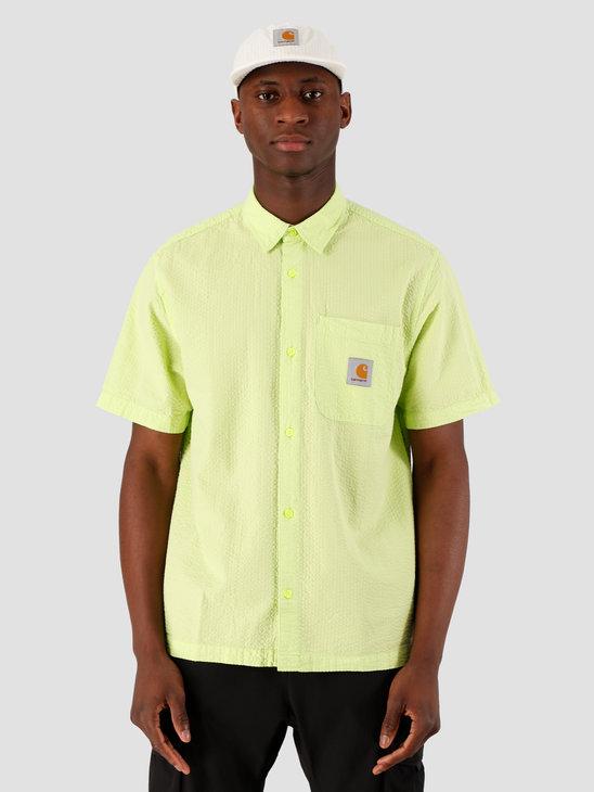 Carhartt WIP Southfield Short Sleeve Shirt Lime I027510-09E00