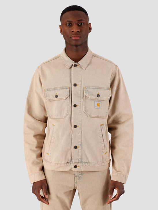 Carhartt WIP Stetson Jacket Blue Sand Bleached I027977-01SN