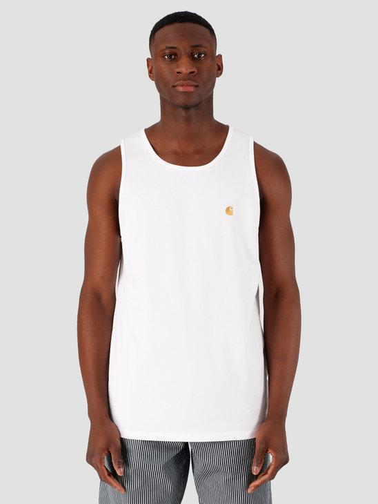 Carhartt WIP Chase A-Shirt White Gold I026396-290