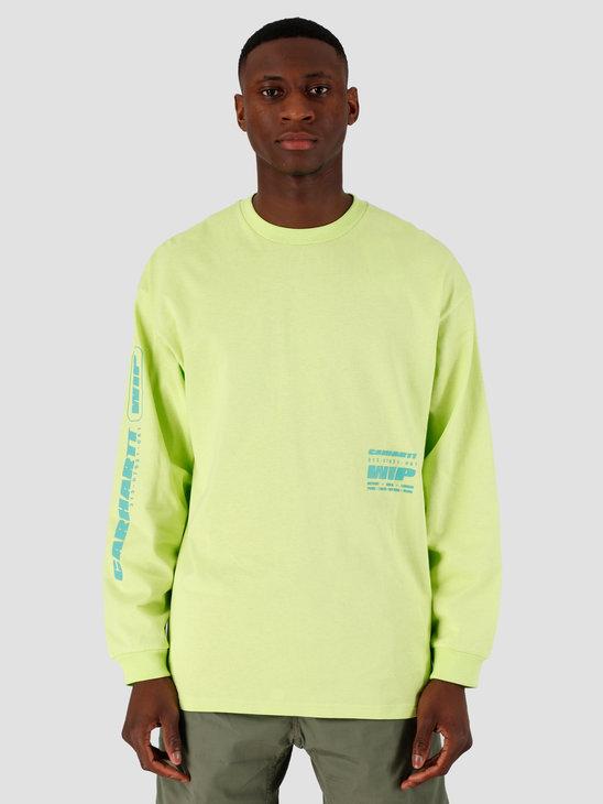 Carhartt WIP Inter Longsleeve Lime I027819-09E00
