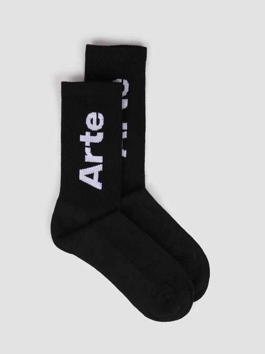Arte Antwerp Big Arte Socks Socks Black SS20-060SK