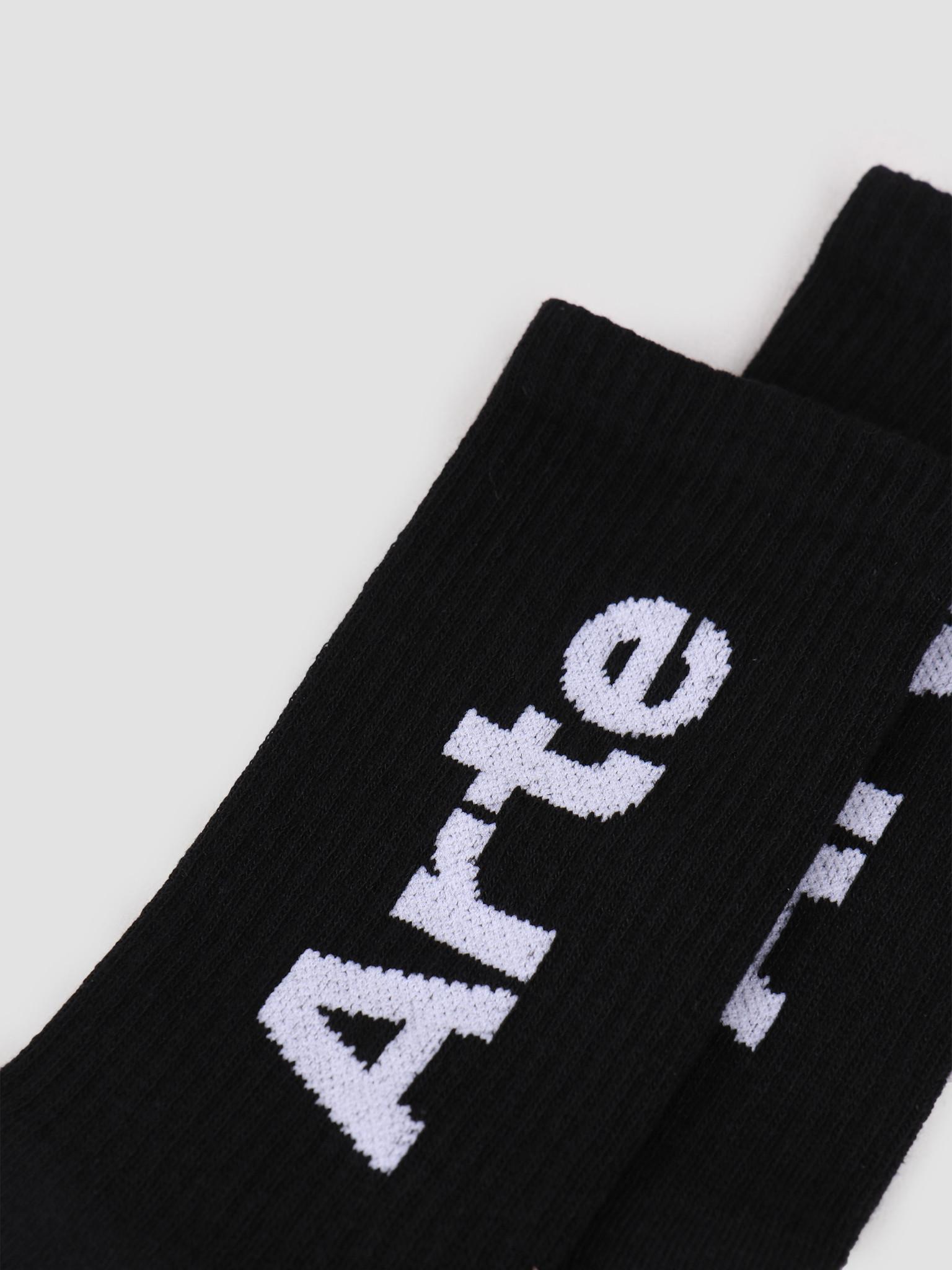 Arte Antwerp Arte Antwerp Big Arte Socks Socks Black SS20-060SK