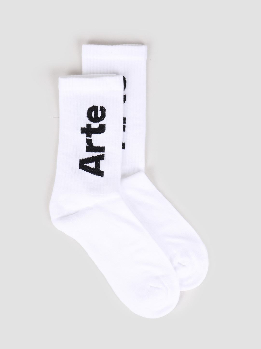 Arte Antwerp Arte Antwerp Big Arte Socks Socks White SS20-060SK