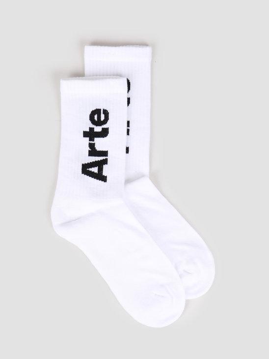 Arte Antwerp Big Arte Socks Socks White SS20-060SK