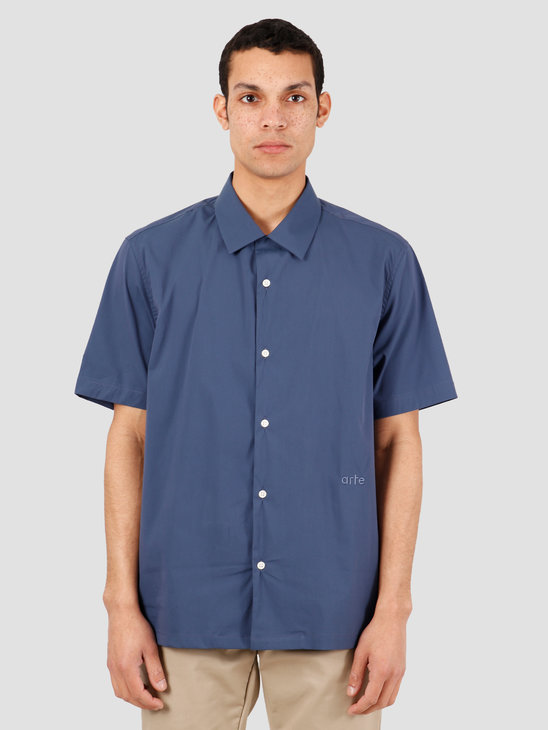 Arte Antwerp Scottie Shirt Navy SS20-050S