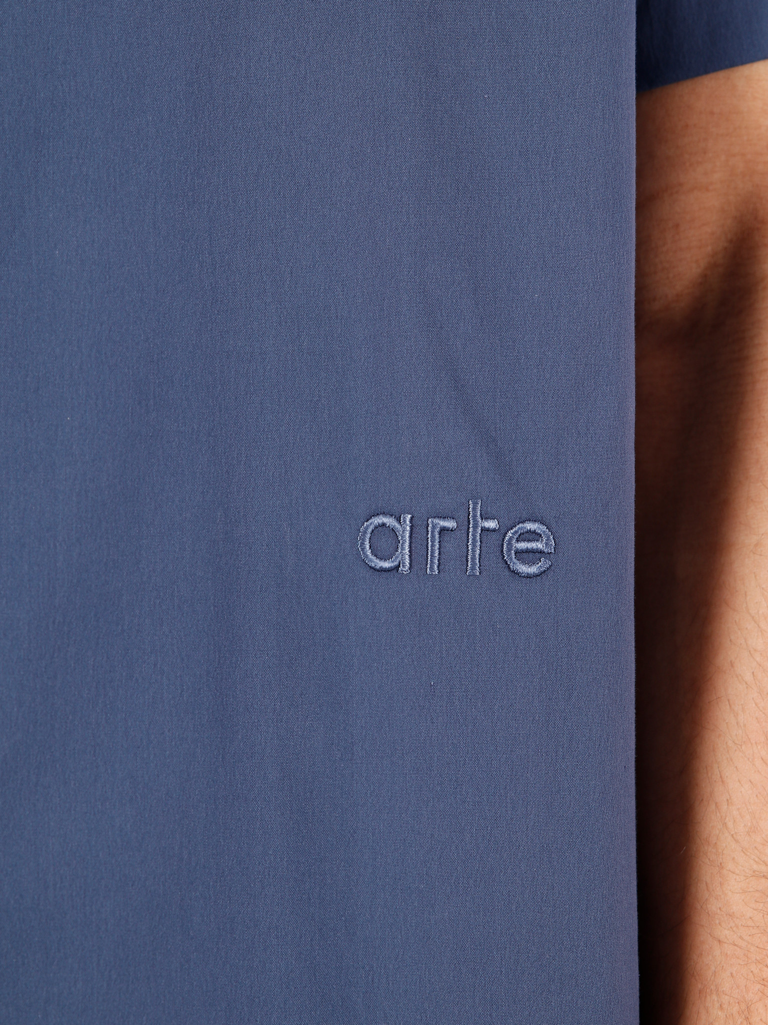 Arte Antwerp Arte Antwerp Scottie Shirt Navy SS20-050S