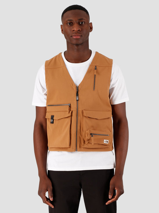 The North Face Wild Vest Cedar Brown NF0A493HWXE1