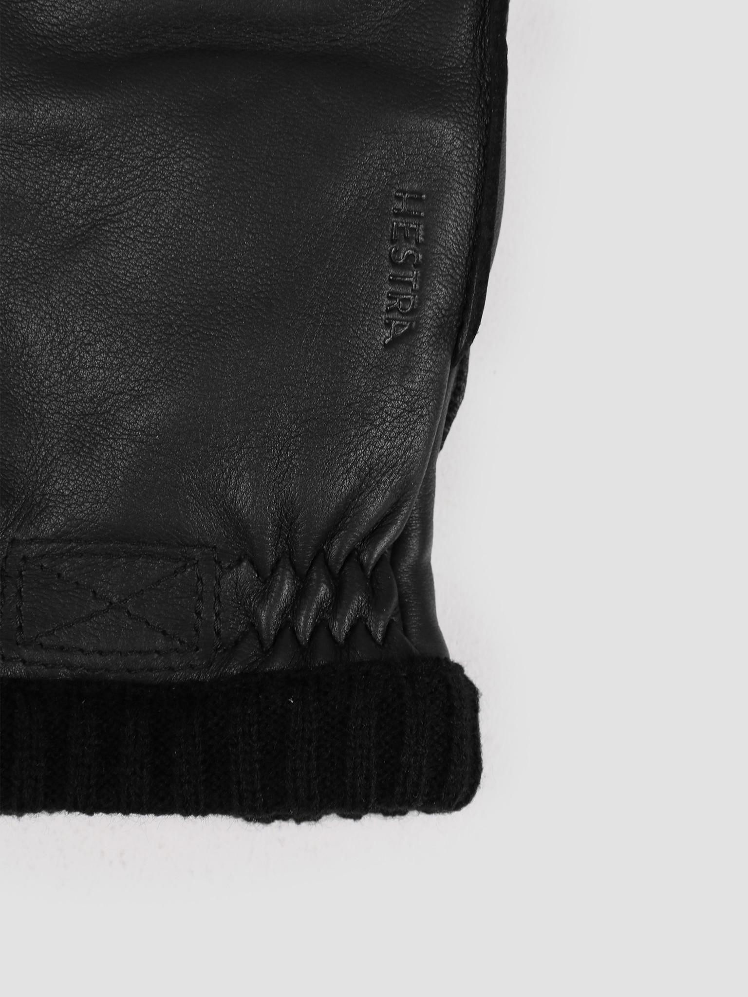 Hestra Hestra Deerskin Primaloft Rib Glove Black 20210