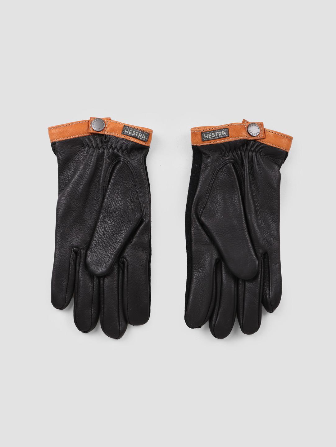 Hestra Hestra Deerskin Wool Tricot Glove Black Black 20450