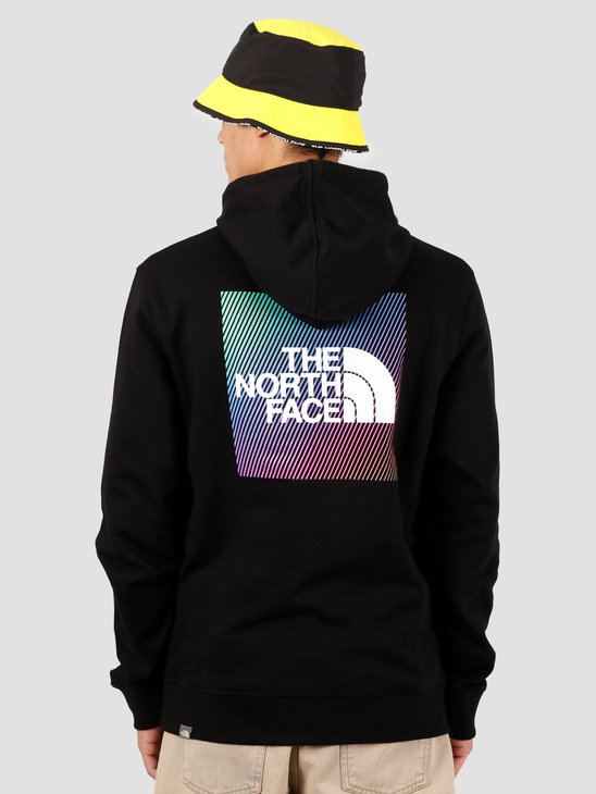 The North Face Graphic Hoodie TNF Black TNF White NF0A492AKY41