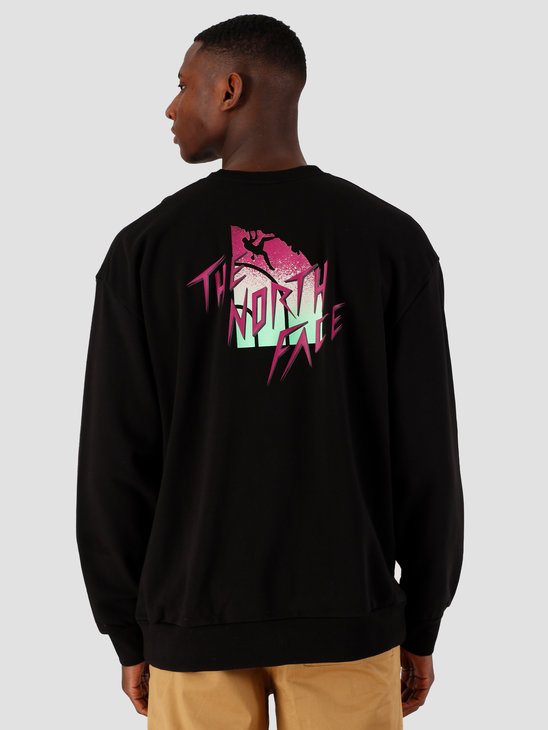 The North Face Masters Of Stone Crewneck TNF Black NF0A4C9JJK31