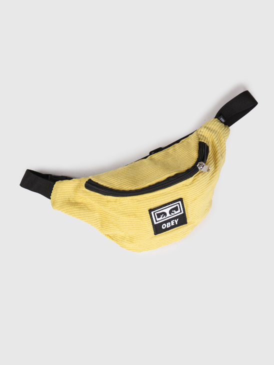 Obey Wasted Hip Bag Mellow Yellow 100010098-MLY