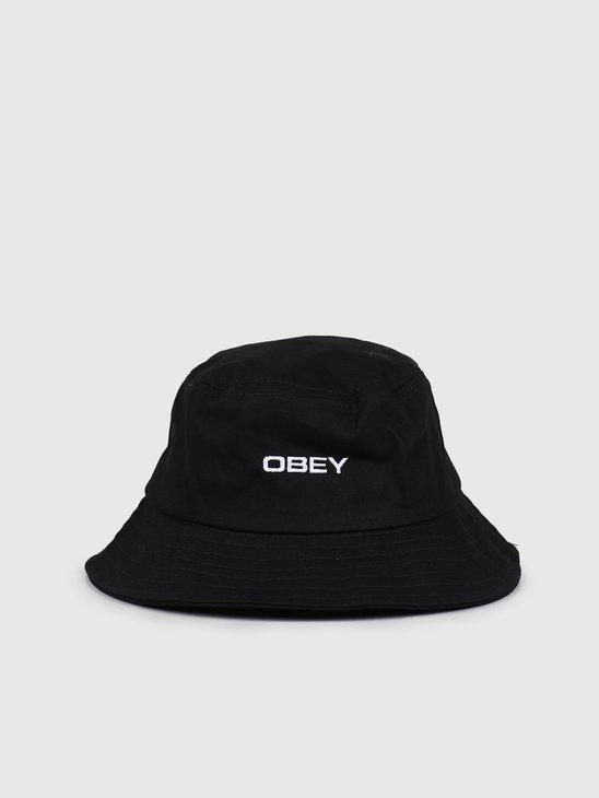 Obey Luna Bucket Hat Black 100520034-BLK