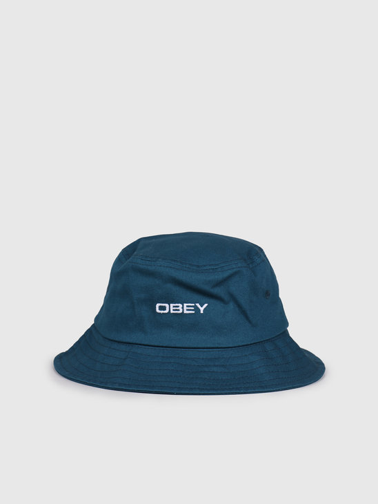 Obey Luna Bucket Hat Navy 100520034-NVY