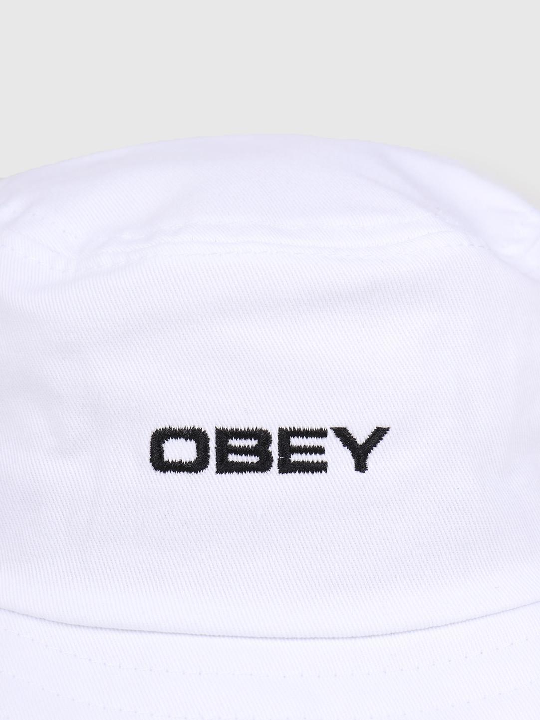 Obey Obey Luna Bucket Hat White 100520034-WHT