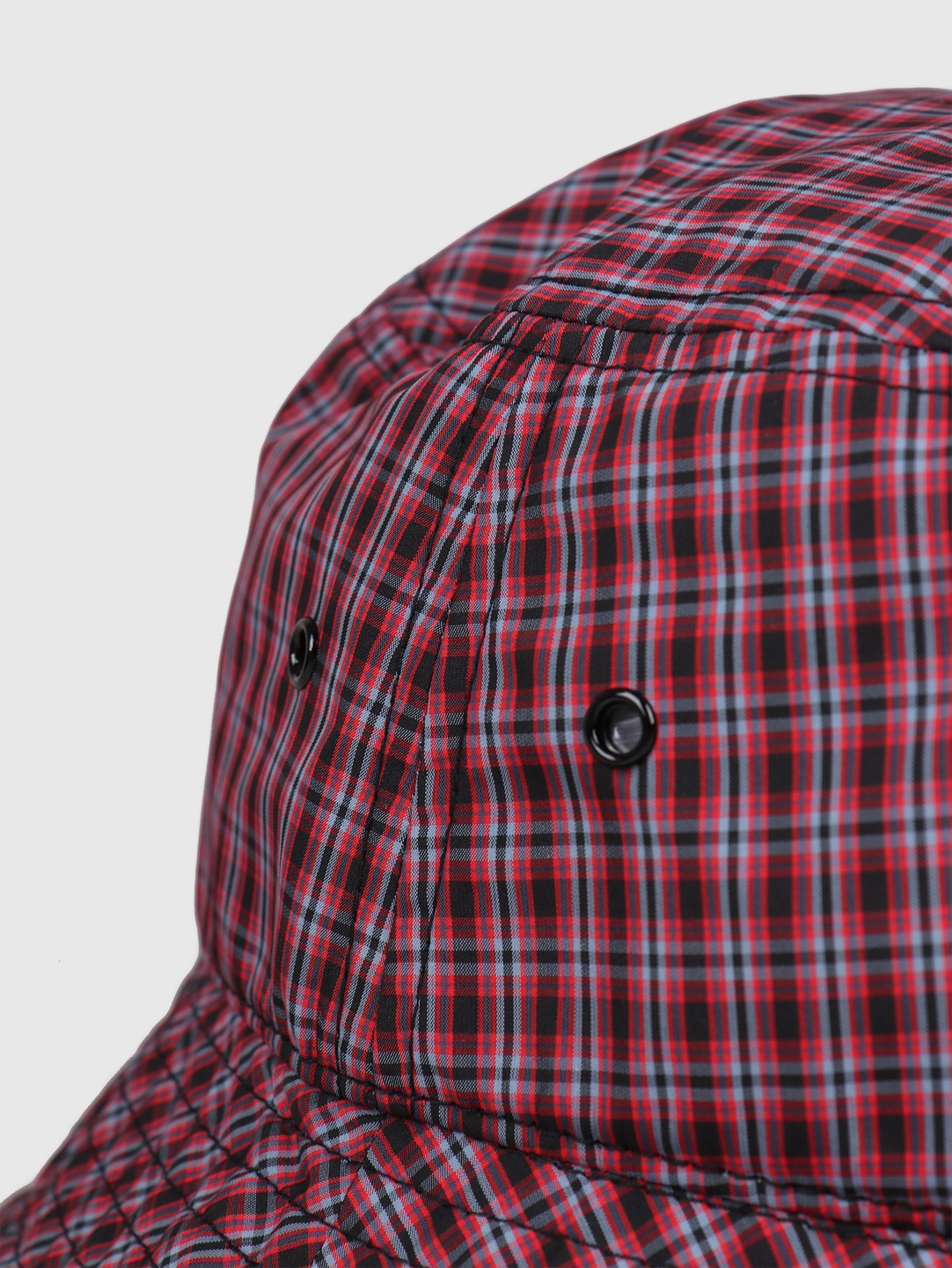 Carhartt WIP Carhartt WIP Alistair Bucket Hat Alistair Check Black Etna Red Check I027616-8907