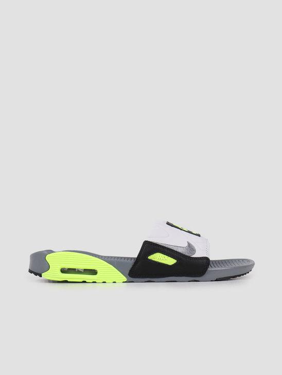 Nike Air Max 90 Slide Smoke Grey Smoke Grey Volt Black BQ4635-001
