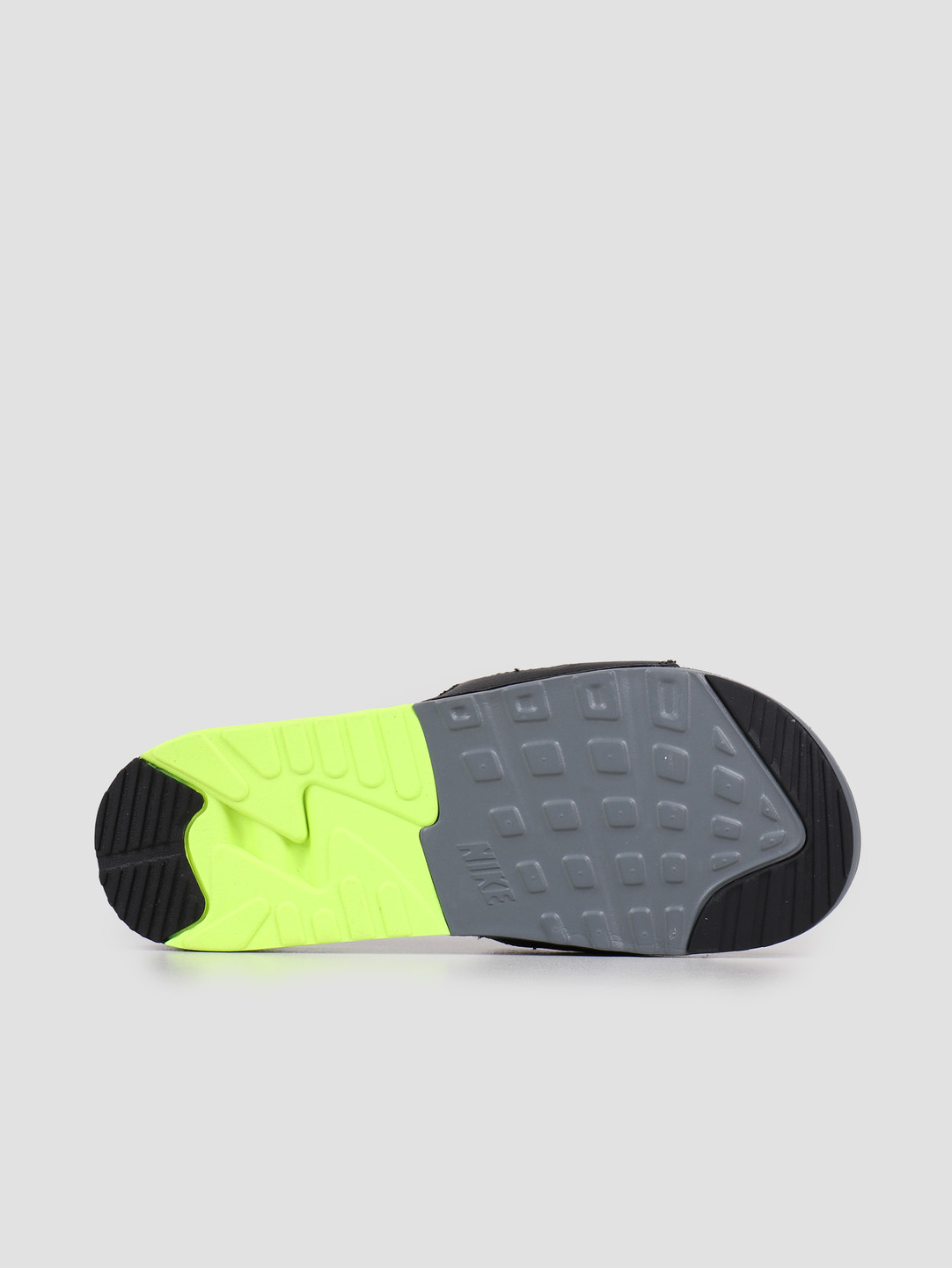 Nike Nike Air Max 90 Slide Smoke Grey Smoke Grey Volt Black BQ4635-001