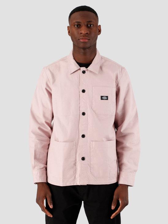 Dickies Caprock Long Sleeve Overshirt Violet DK520359VIO1