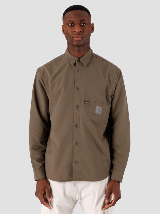 Carhartt WIP Copeman Shirt Moor I027683-96600