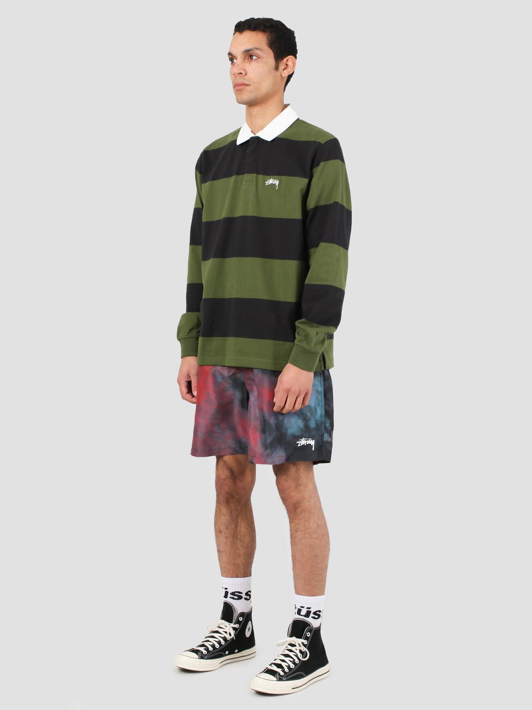 Stussy Stussy Classic Stripe Ls Rugby Black 1140184