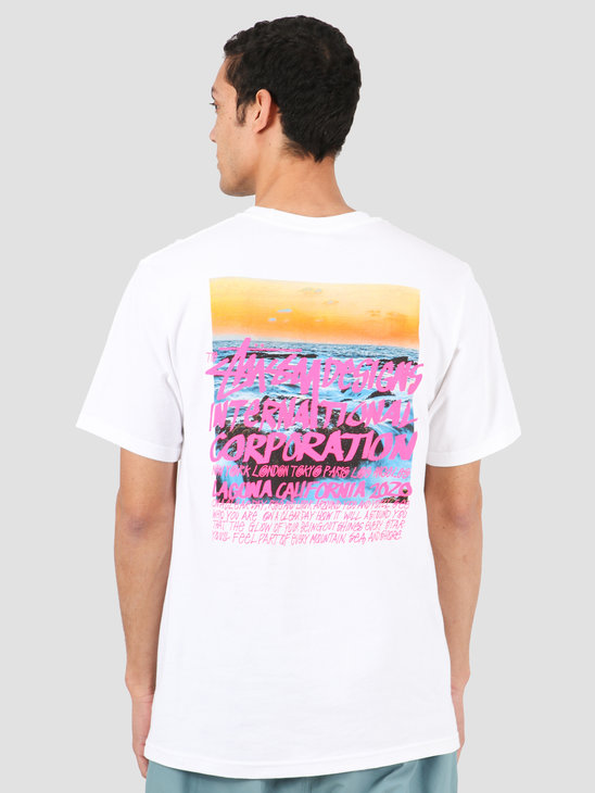Stussy Clear Day Tee White 1904502