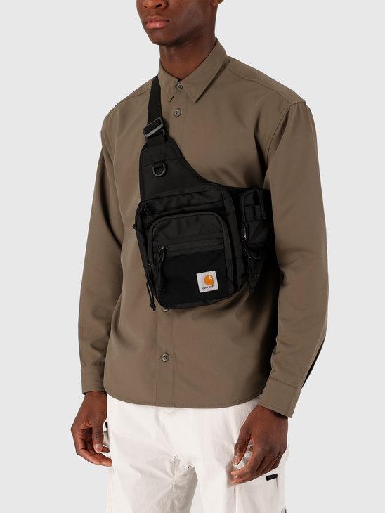 Carhartt WIP Delta Shoulder Bag Black I027539-8900