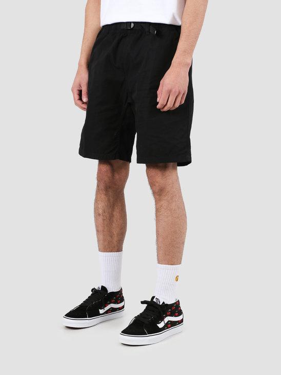 Carhartt WIP Clover Short Black Rinsed I025931-8902