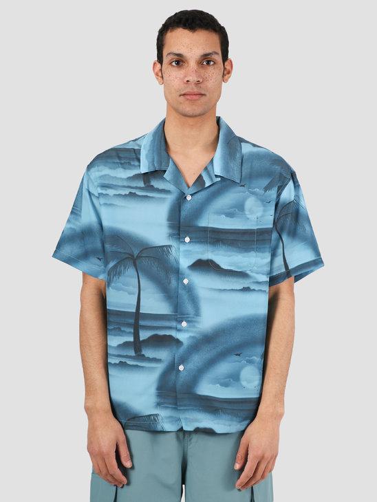 Stussy Island Shirt Steel 1110096
