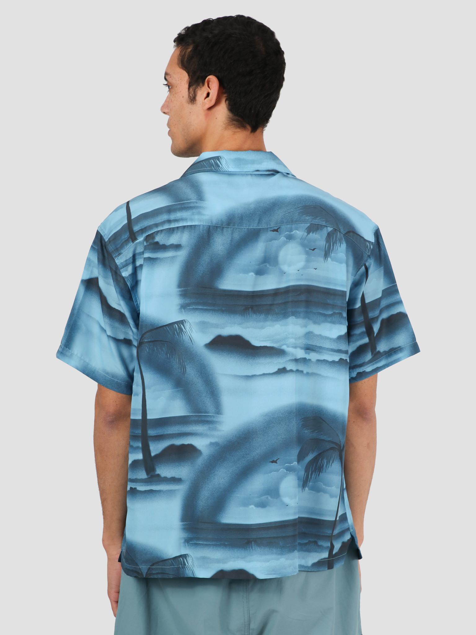 Stussy Stussy Island Shirt Steel 1110096