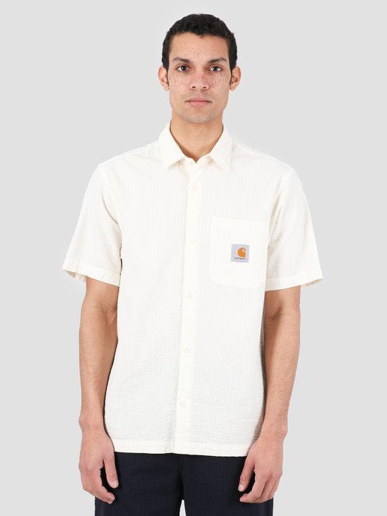 Carhartt WIP Southfield Short Sleeve Shirt Wax I027510-D600
