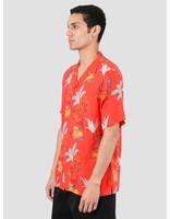 Carhartt WIP Carhartt WIP Hawaiian Floral Short Sleeve Shirt Hawaiian Floral Print Red I027531-09L00