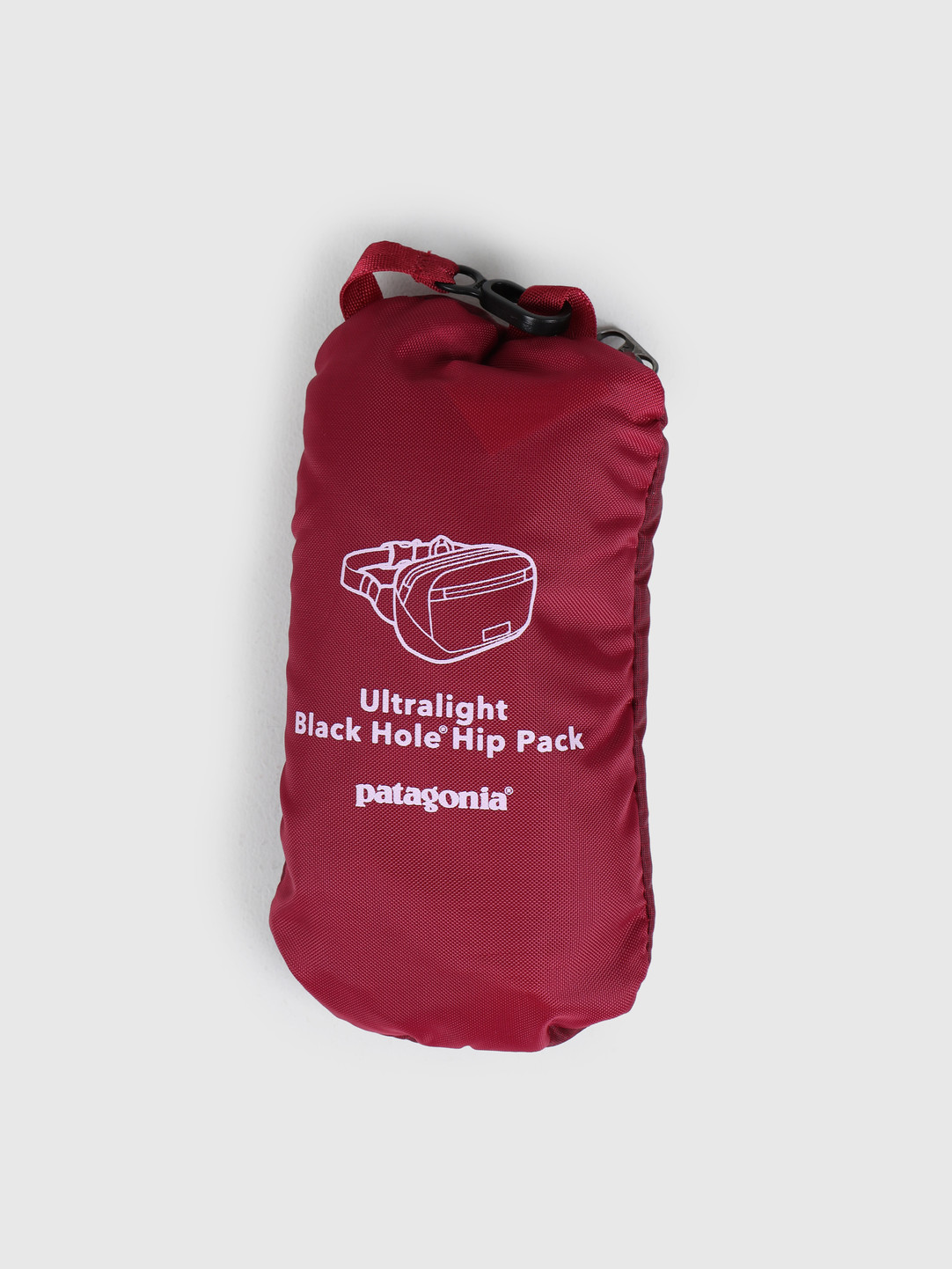 Patagonia Patagonia Ultralight Black Hole Mini Hip Pack Roamer Red 49447