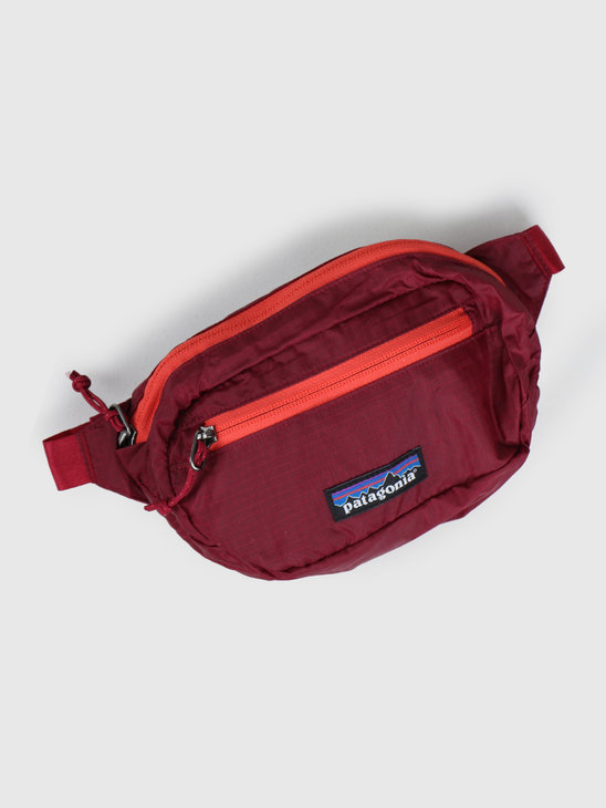 Patagonia Ultralight Black Hole Mini Hip Pack Roamer Red 49447