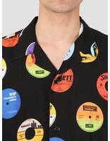 Carhartt WIP Carhartt WIP Record Short Sleeve Shirt Record Print Black I027529-09U00