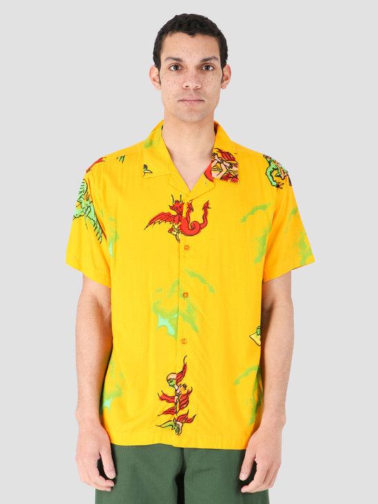 Obey Devils Woven Woven Mellow Yellow Multi 181210285-YWM