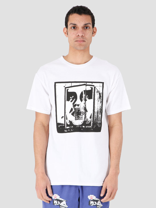 Obey Bomb The Planet T-Shirt White 163082206-WHT