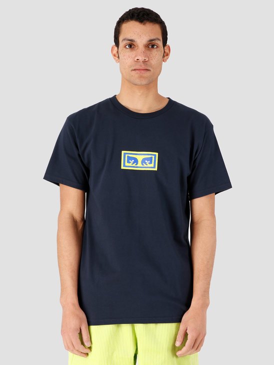 Obey Eyes T-Shirt Navy 163082163-NVY