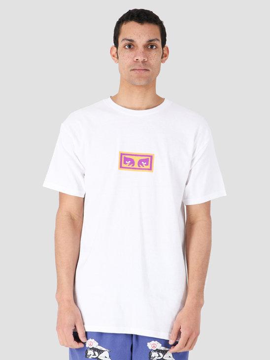 Obey Eyes T-Shirt White 163082163-WHT